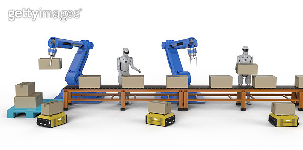 Automation factory concept