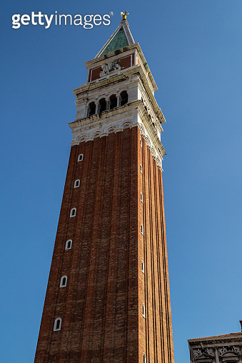 St Mark's Campanile in Venice, Italy