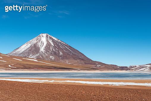 Laguna Verde in Winter, Uyuni, Bolivia
