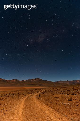 Milky Way, Andes, Bolivia