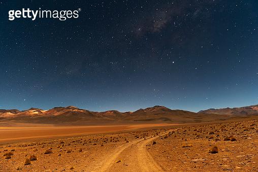 Milky Way, Andes Mountains, Uyuni, Bolivia