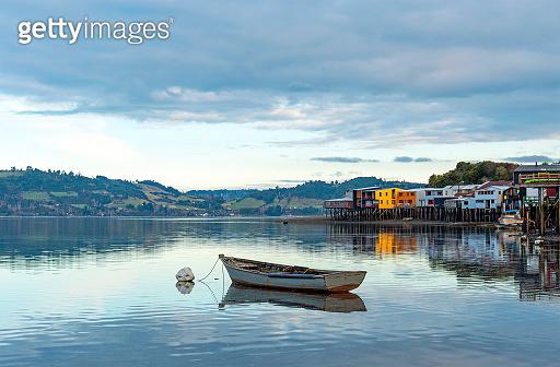 Palafitos Stilt Houses, Castro, Chiloe Island, Chile