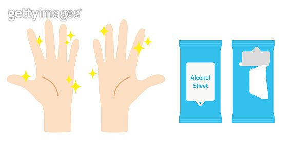Clean hands and Disinfection sheet