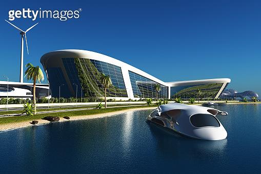FutureBeautiful city of fantasy