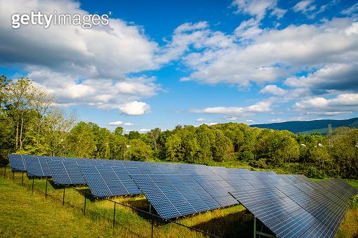 Solar Panels Nature