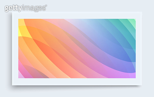 Abstract wavy background with dynamic effect. Modern screen design for mobile app and web. 3d vector illustration for brochure, banner, flyer or presentation.