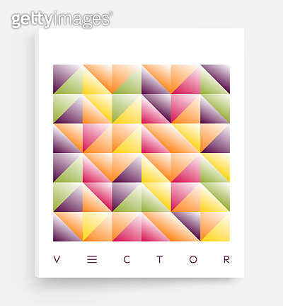 Cover design template. Abstract geometric design. Pattern can be used as a template for brochure, annual report, magazine, poster, presentation, flyer and banner.