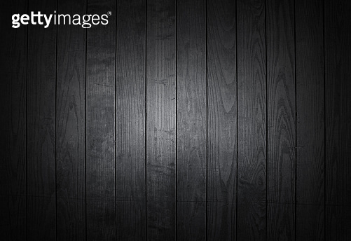 Light and dark grey painted natural wood with grains for background, banner and texture.