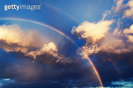 Rainbow Cloudscape