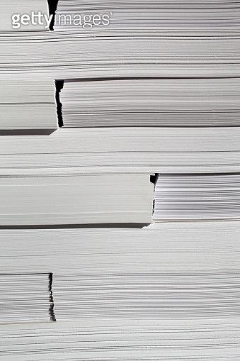 White paper stack