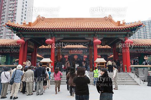 Wong Tai Sin Temple in Kowloon, Hong Kong