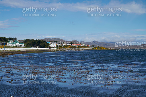 Waterfront of Stanley, Falkland Islands
