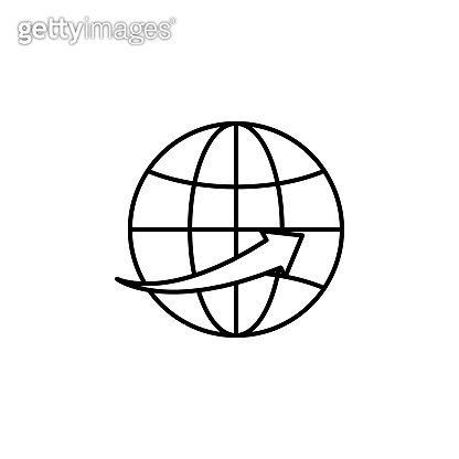 global business, communication icon Business managmant vector icon.