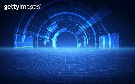 abstract futuristic background technology sci fi concept