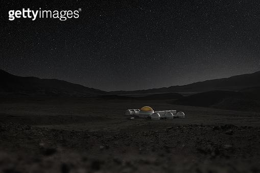 Extraterrestrial human settlement