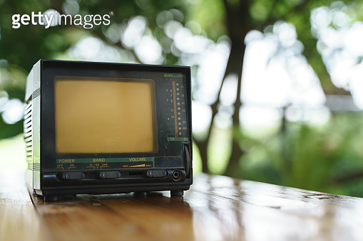 Portable or small analog TV