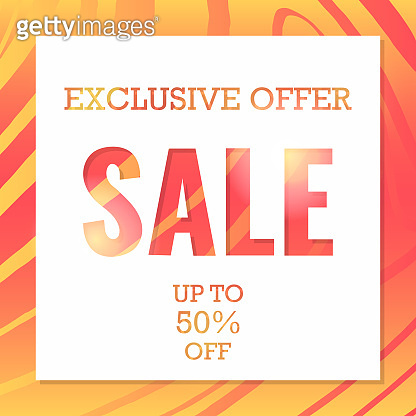 Modern striped background. Special offer price sign. Advertising Discounts symbol. Banner badge. Wow sale. EPS 10