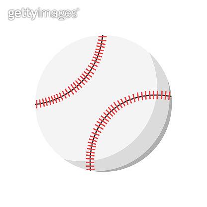 Traditional baseball ball