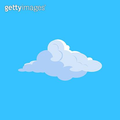 White cloud in sky