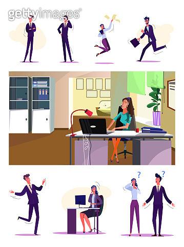 Office employees set