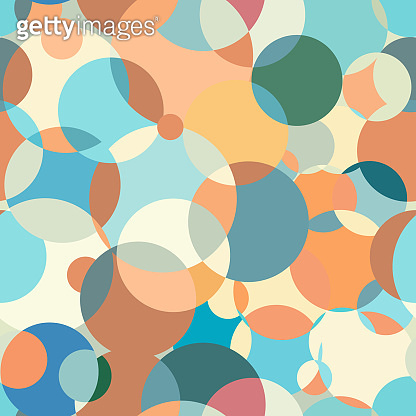 Circles pattern abstraction. Contemporary color palette. Great background for a screensaver. Interesting background for fabric. Circular colored spots.