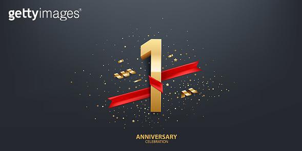 1st Year Anniversary Background