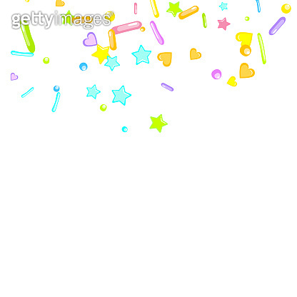 Sprinkles grainy. Cupcake dessert bakery confetti
