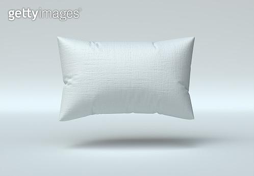 Rectangle Pillow Mockup. 3d Render