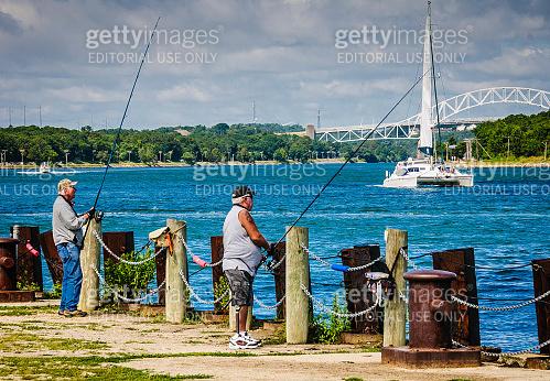 Canal Fishermen