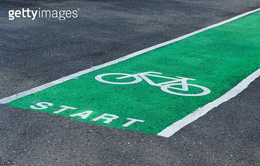 Bicycle lanes, designed to make cycling safer.