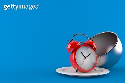 Alarm clock with catering dome