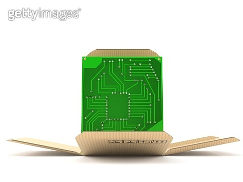 Circuit board inside package
