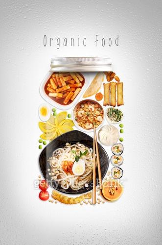 유기농, 음식, 오가닉