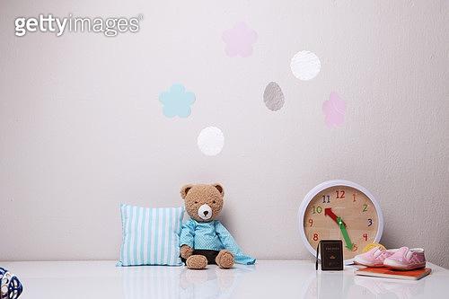소품,데코르,장식하기,아이방,테디베어,시계,아기신발