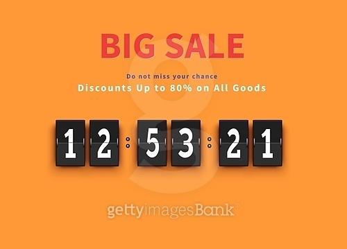 Opening Soon. Big Sale Countdown