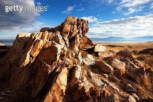 Salt Lake landscapes,USA