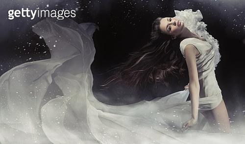 Amazing photo of sensual brunette lady
