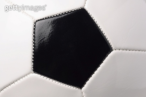 closeup of a football ball