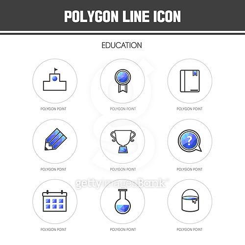 교육 아이콘 모음