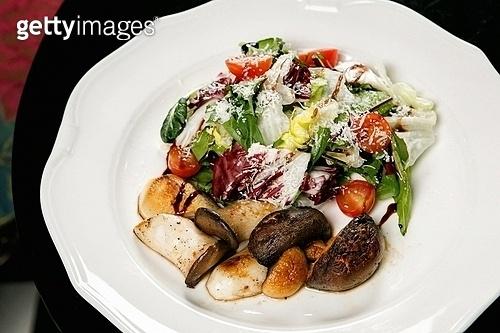 버섯,단호박,감자 샐러드