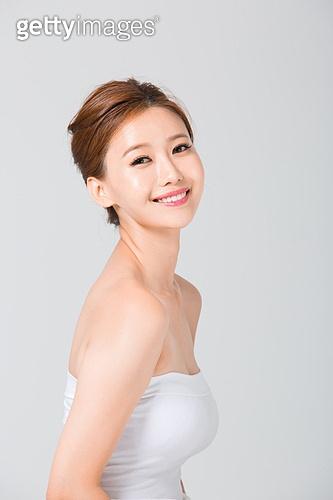 한국인, 여성, 뷰티, 미소