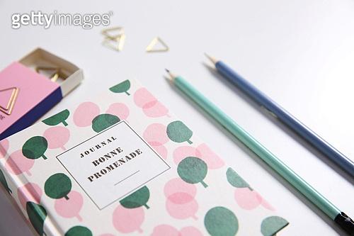 사무용품, 다이어리, 연필,필기구,종이클립