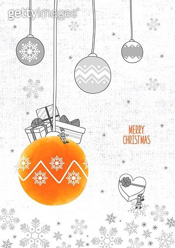 일러스트, 일러스트 (이미지), 겨울, 크리스마스, 라인아트 (일러스트기법), 팝업, 선물 (인조물건), 상업이벤트 (사건)
