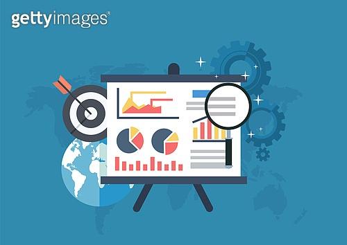 평면 (물체묘사), 플랫디자인 (이미지), 비즈니스, 글로벌, 스마트기기 (정보장비), 스마트폰, 디지털태블릿 (개인용컴퓨터), 컴퓨터네트워크 (컴퓨터장비), 사물인터넷