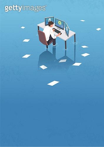 비트코인, 가상화폐, 블록체인, 금융, 화폐, 컴퓨터모니터 (개인용컴퓨터), 비즈니스맨