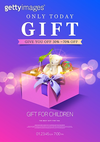 편집디자인, 팝업, 배너, 상업이벤트 (사건), 선물 (인조물건), 선물상자 (상자), 발렌타인데이, 쿠폰, 기프트콘 (선물)