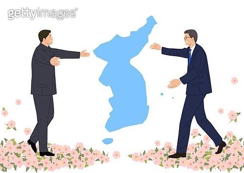 평화, 남북통일, 통일, 화해, 무궁화, 한반도지형 (한국지명), 꽃