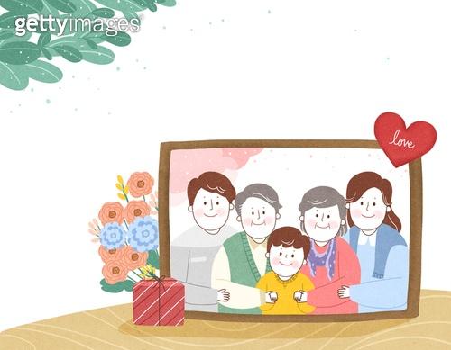 가정의달, 가정생활 (주제), 가족 (인간관계), 가족, 가정의달 (홀리데이), 일러스트
