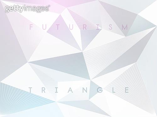 그래픽이미지, 백그라운드, 초현대적 (컨셉), 삼각형 (이차원모양), 도형, 패턴, 미래주의, 연결 (컨셉)