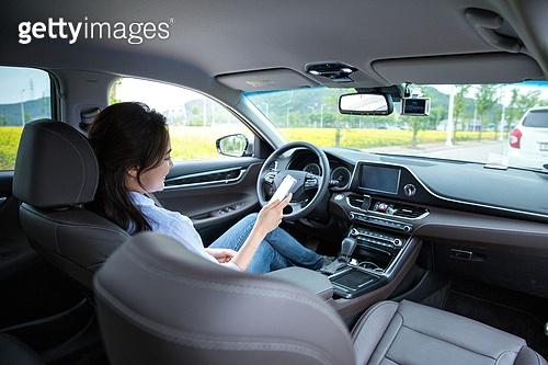 자동차, 무인자동차 (자동차), 미소, 스마트폰